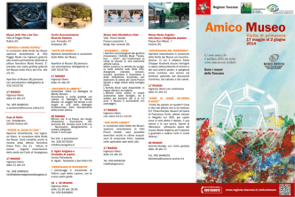 Amico museo 2014 - Visite di primavera