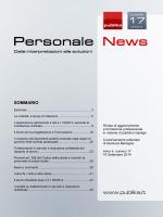 Scarica un numero gratuito di Personale News