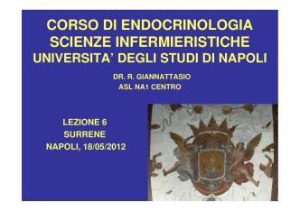 18-05-2012 ENDOCRINOLOGIA – Lezione6 – SURRENE