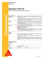 Sikalastic®-827 HT