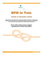 BPM In Toto - Fascicolo Informativo
