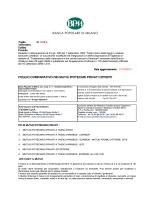 Fogli informativi - MutuiSupermarket