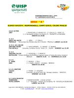 """SERIE """" B """" - AC Alta Velocità Desenzano"""