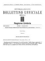 BUR Umbria - Serie generale - n. 57 (Supplemento