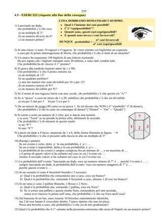 255 … 261 - Chi ha paura della matematica