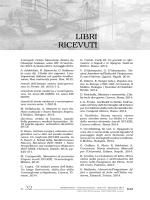 Libri ricevuti - Storia Mediterranea