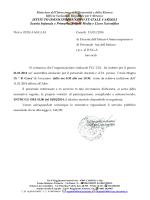 Assemblea Sindacale - istituto omnicomprensivo carsoli