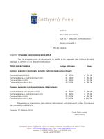 Spett.le Università di Catania CGA AC – Direzione Amministrativa