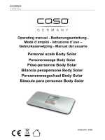 Personal scale Body Solar Pèse-personne Body Solar