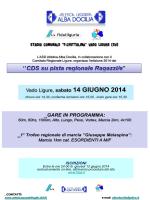 CDS Ragazze-i - Vado Ligure