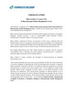 Comunicato Stampa Nomina Nuovo CFO
