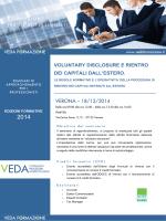 18/12/2014 - Corso Veda - ordine dei dottori commercialisti e degli
