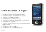 CONFIGURAZIONE HP IPAQ 214