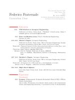 CV Federico Fraternale [PDF]