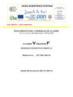 """5 F - Liceo Scientifico """"Leonardo da Vinci"""""""