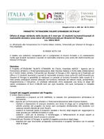 Bando e modello di domanda - Università per Stranieri di Perugia