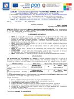 """Bando esperti C5 - ITAS """"V. Emanuele"""""""