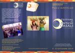 Brochure Festival Antichi Casali 2014