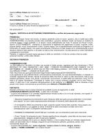 N.A.C. per Tasse Rifiuti TARS/TARSU