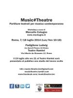 Music#Theatre - Marcello Cotugno