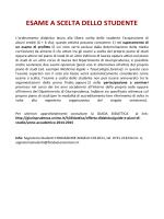 Scelta dello Studente, Idoneà linguistiche ed informatiche e varie