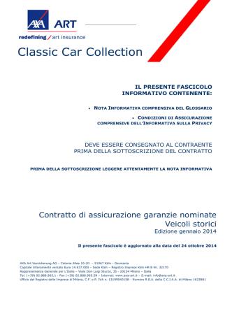 Classic Car Collection - Servizi Quotazioni Express