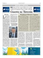 Guerra su Tirrenia - Autorità Portuale di Trieste
