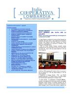 notiziario luglio 2014 - Confcooperative Lombardia