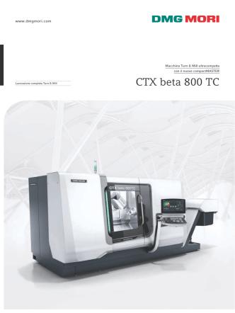 CTX beta 800 TC