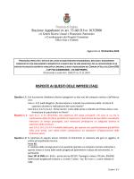 FAQ - Provincia di Padova
