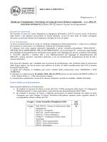 Allegato Bando Integrativo (DR 3989 del 03/10/14)