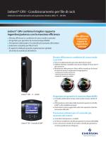 Liebert CRV 300 mm DX - Emerson Network Power