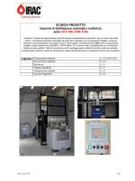 SCHEDA PRODOTTO Impianti di distillazione automatici