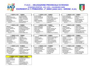 Calendario-Esordienti-11-Primavera 2013-14