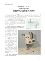 Obbiettivi Wild Fluotar HI - Divulgazione scientifica, ottica, biologia e