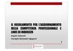 Regolamento Formazione CNI - Ordine degli Ingegneri della