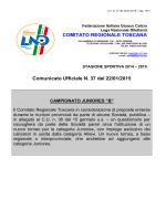 Comunicato Ufficiale n°33 del 18/12/2014 - Figc