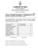 COMUNE DI SEUI
