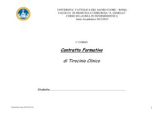 Contratto Formativo 1