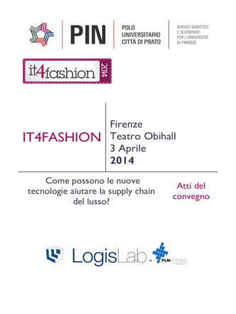 2014 - IT4Fashion