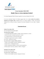 Corso Istruttori 2014-2015