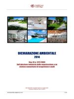 DICHIARAZIONE AMBIENTALE - Hotel Village Magna Grecia