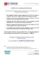 (A) estate 2014 - Corsi Di Volo