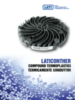 LATICONTHER Compound termoplastici termicamente