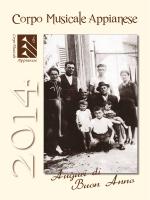Calendario 2014 - Corpo Musicale Appianese