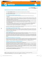 fornitura di gas naturale per uso domestico - mercato libero