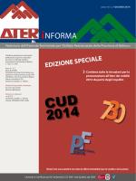CUD 2014 703 - ATER di Belluno
