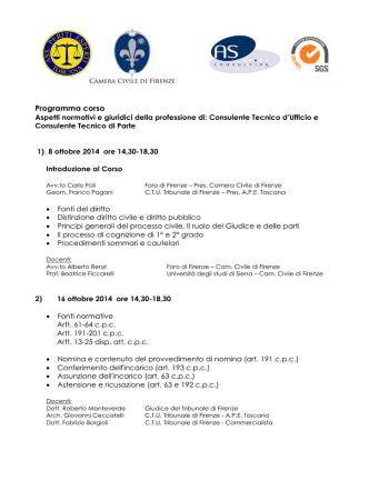 definitivo programma corso CTU