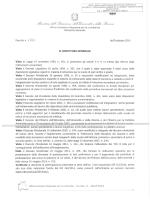 Decreto Prot. n. MIUR AOODRLO R.U. 1721 del 30 ottobre 2014