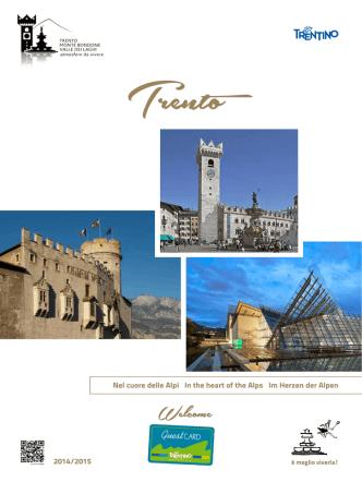 Brochure Trento 2014 -15 - APT Trento, Monte Bondone, Valle dei